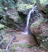 八王子城18御主殿の滝