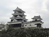 04大洲城天守と高欄櫓