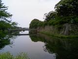 彦根城03中堀と京橋
