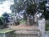 宋閑寺の武将の墓