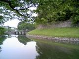 彦根城02内堀と大手橋
