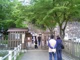09GW旅行09安土城跡入口
