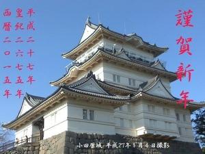 小田原城150104-2