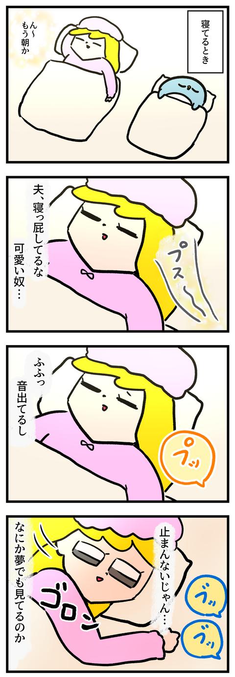 ブログ寝っ屁1