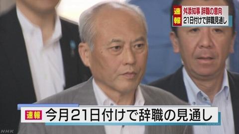 舛添要一氏が反撃開始 妻子の取材に対しフジテレビをBPO提訴