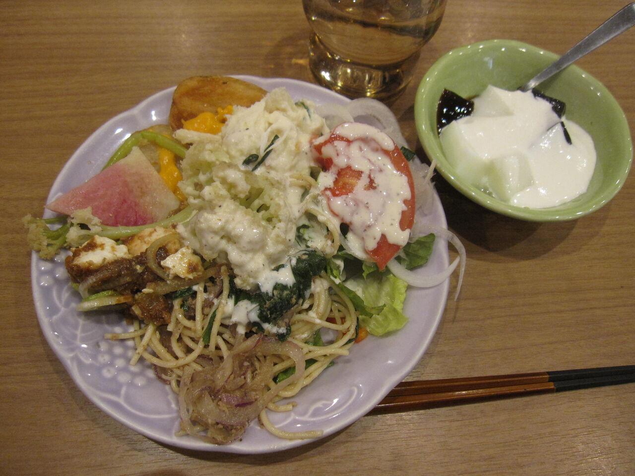 3 月 の ライオン ポテト サラダ