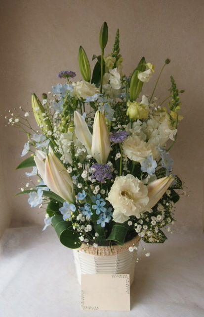 花ギフト|フラワーギフト|誕生日 花|カノシェ話題|スタンド花|ウエディングブーケ|花束|花屋|53474