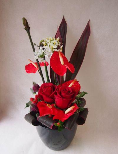 花ギフト|フラワーギフト|誕生日 花|カノシェ話題|スタンド花|ウエディングブーケ|花束|花屋|37865