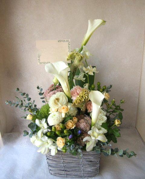 花ギフト|フラワーギフト|誕生日 花|カノシェ話題|スタンド花|ウエディングブーケ|花束|花屋|58103