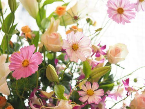 花ギフト|フラワーギフト|誕生日 花|カノシェ話題|スタンド花|ウエディングブーケ|花束|花屋|P9120491