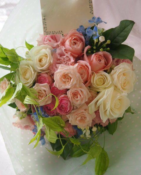 花ギフト|フラワーギフト|誕生日 花|カノシェ話題|スタンド花|ウエディングブーケ|花束|花屋|51403