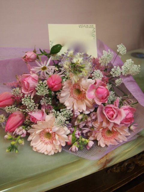 花ギフト|フラワーギフト|誕生日 花|カノシェ話題|スタンド花|ウエディングブーケ|花束|花屋|53466