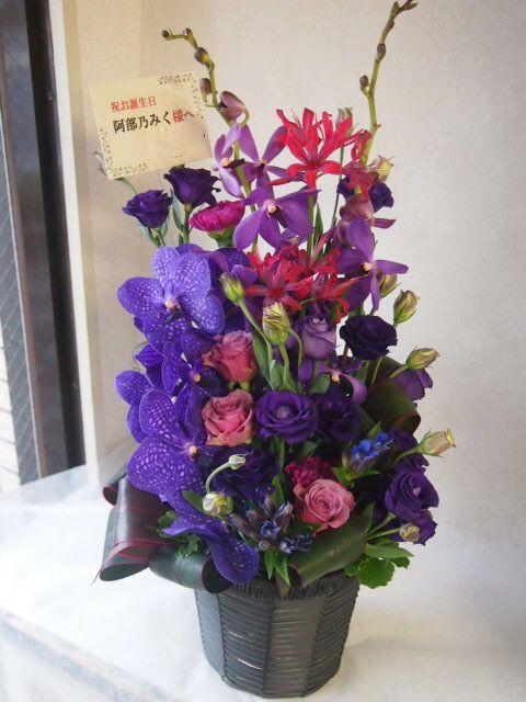 花ギフト|フラワーギフト|誕生日 花|カノシェ話題|スタンド花|ウエディングブーケ|花束|花屋|51276