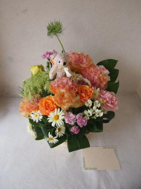 花ギフト|フラワーギフト|誕生日 花|カノシェ話題|スタンド花|ウエディングブーケ|花束|花屋|56048
