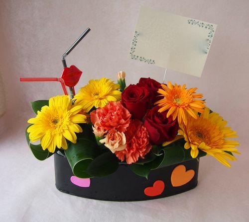 花ギフト|フラワーギフト|誕生日 花|カノシェ話題|スタンド花|ウエディングブーケ|花束|花屋|35453