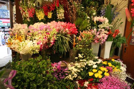 花ギフト|フラワーギフト|誕生日 花|カノシェ話題|スタンド花|ウエディングブーケ|花束|花屋|店内2