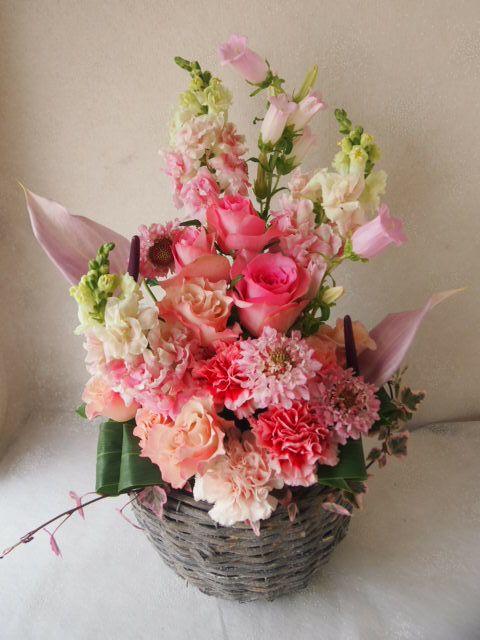 花ギフト|フラワーギフト|誕生日 花|カノシェ話題|スタンド花|ウエディングブーケ|花束|花屋|55836