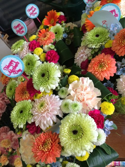 花ギフト|フラワーギフト|誕生日 花|カノシェ話題|スタンド花|ウエディングブーケ|花束|花屋|IMG_5077