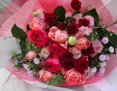 花ギフト|フラワーギフト|誕生日 花|カノシェ話題|スタンド花|ウエディングブーケ|花束|花屋|514