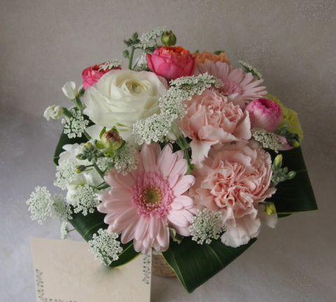 花ギフト|フラワーギフト|誕生日 花|カノシェ話題|スタンド花|ウエディングブーケ|花束|花屋|53336(1)