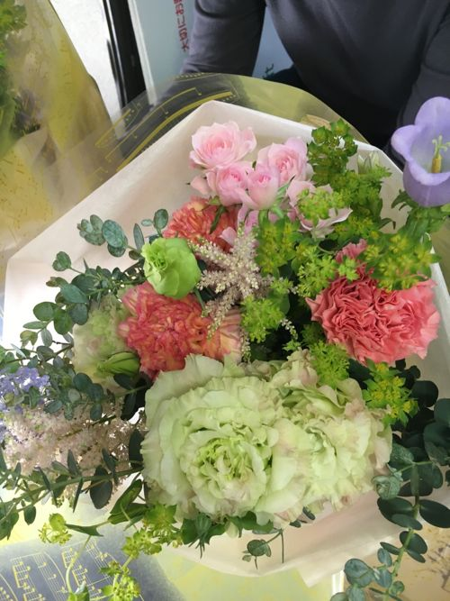 花ギフト|フラワーギフト|誕生日 花|カノシェ話題|スタンド花|ウエディングブーケ|花束|花屋|IMG_1015
