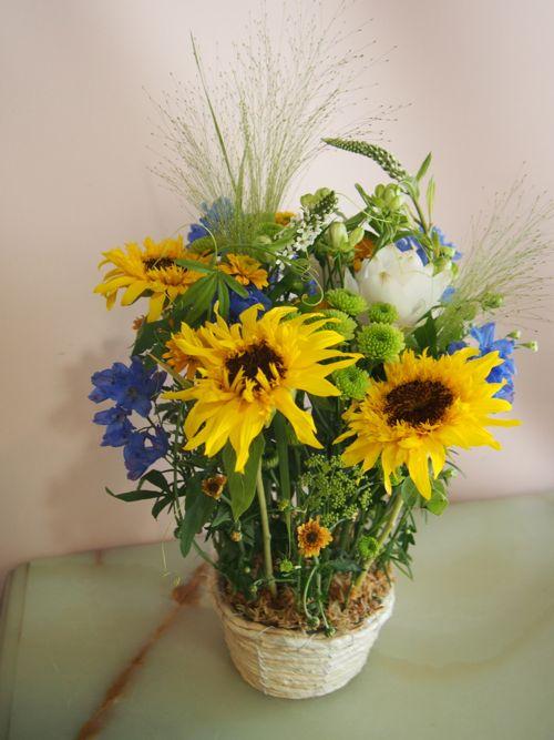 花ギフト|フラワーギフト|誕生日 花|カノシェ話題|スタンド花|ウエディングブーケ|花束|花屋|P7060682