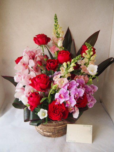 花ギフト|フラワーギフト|誕生日 花|カノシェ話題|スタンド花|ウエディングブーケ|花束|花屋|55117