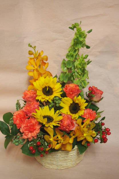 花ギフト|フラワーギフト|誕生日 花|カノシェ話題|スタンド花|ウエディングブーケ|花束|花屋|41142