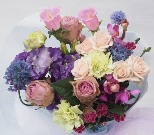 花ギフト|フラワーギフト|誕生日 花|カノシェ話題|スタンド花|ウエディングブーケ|花束|花屋|2016_es_b2