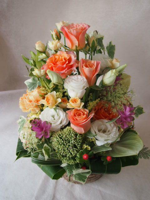 花ギフト|フラワーギフト|誕生日 花|カノシェ話題|スタンド花|ウエディングブーケ|花束|花屋|42095