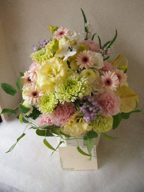 花ギフト|フラワーギフト|誕生日 花|カノシェ話題|スタンド花|ウエディングブーケ|花束|花屋|57372