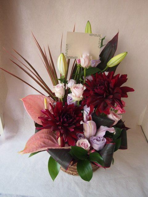 花ギフト|フラワーギフト|誕生日 花|カノシェ話題|スタンド花|ウエディングブーケ|花束|花屋|41698