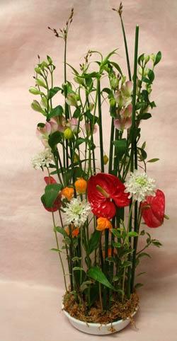花ギフト フラワーギフト 誕生日 花 カノシェ話題 スタンド花 ウエディングブーケ 花束 花屋 IMG_7302
