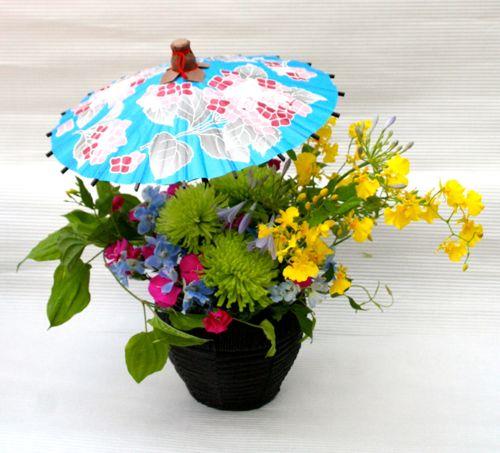 花ギフト|フラワーギフト|誕生日 花|カノシェ話題|スタンド花|ウエディングブーケ|花束|花屋|2015_father_a2(1)