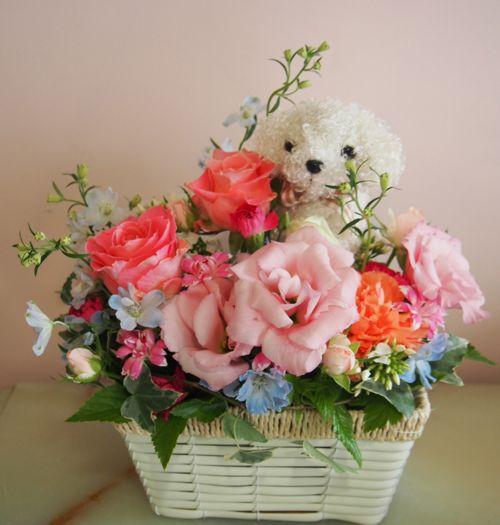 花ギフト|フラワーギフト|誕生日 花|カノシェ話題|スタンド花|ウエディングブーケ|花束|花屋|57375