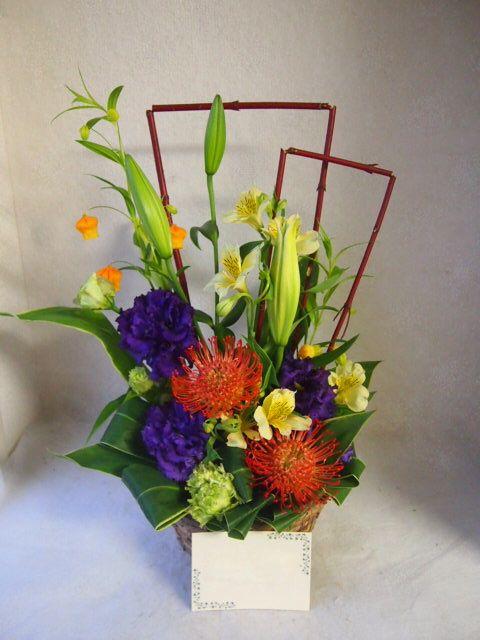 花ギフト|フラワーギフト|誕生日 花|カノシェ話題|スタンド花|ウエディングブーケ|花束|花屋|51944