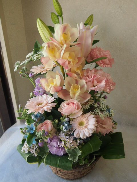 花ギフト|フラワーギフト|誕生日 花|カノシェ話題|スタンド花|ウエディングブーケ|花束|花屋|54435