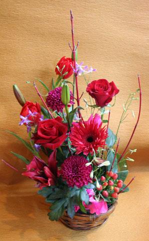 花ギフト|フラワーギフト|誕生日 花|カノシェ話題|スタンド花|ウエディングブーケ|花束|花屋|りえ 赤