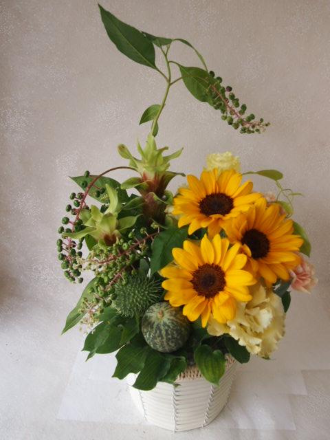 花ギフト|フラワーギフト|誕生日 花|カノシェ話題|スタンド花|ウエディングブーケ|花束|花屋|50080