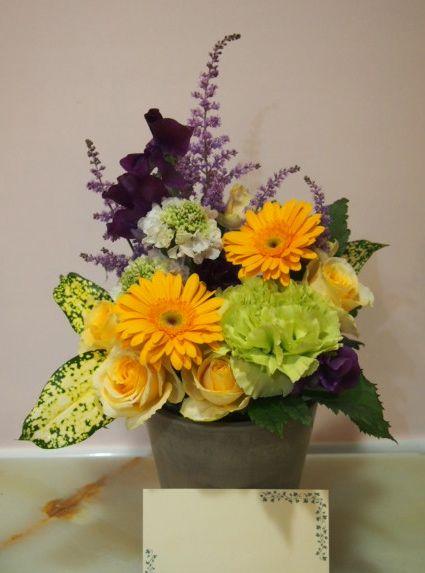 花ギフト|フラワーギフト|誕生日 花|カノシェ話題|スタンド花|ウエディングブーケ|花束|花屋|54414