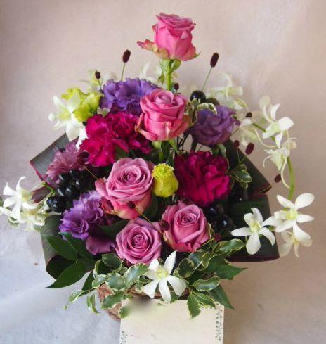 花ギフト|フラワーギフト|誕生日 花|カノシェ話題|スタンド花|ウエディングブーケ|花束|花屋|43076