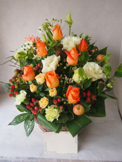 花ギフト|フラワーギフト|誕生日 花|カノシェ話題|スタンド花|ウエディングブーケ|花束|花屋|50553