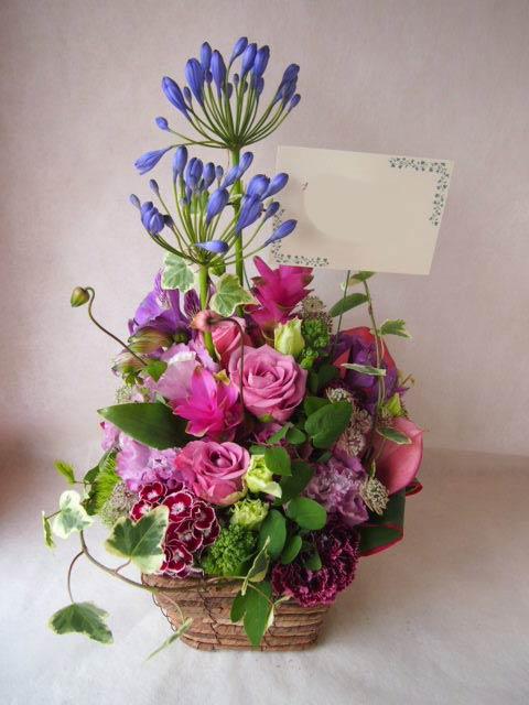 花ギフト|フラワーギフト|誕生日 花|カノシェ話題|スタンド花|ウエディングブーケ|花束|花屋|41555
