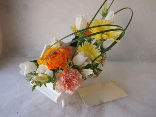 花ギフト|フラワーギフト|誕生日 花|カノシェ話題|スタンド花|ウエディングブーケ|花束|花屋|55036
