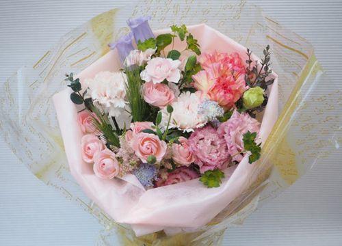 花ギフト|フラワーギフト|誕生日 花|カノシェ話題|スタンド花|ウエディングブーケ|花束|花屋|2016_haha_b3