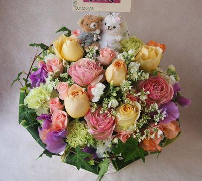 花ギフト|フラワーギフト|誕生日 花|カノシェ話題|スタンド花|ウエディングブーケ|花束|花屋|38550