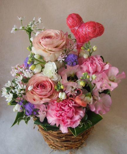 花ギフト|フラワーギフト|誕生日 花|カノシェ話題|スタンド花|ウエディングブーケ|花束|花屋|45704