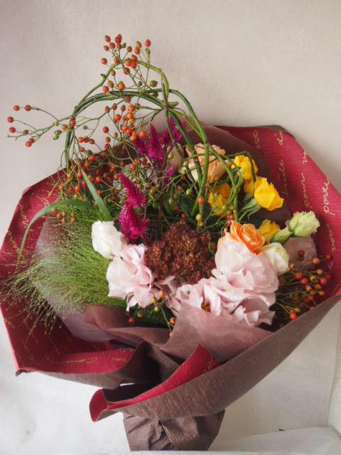 花ギフト|フラワーギフト|誕生日 花|カノシェ話題|スタンド花|ウエディングブーケ|花束|花屋|41779