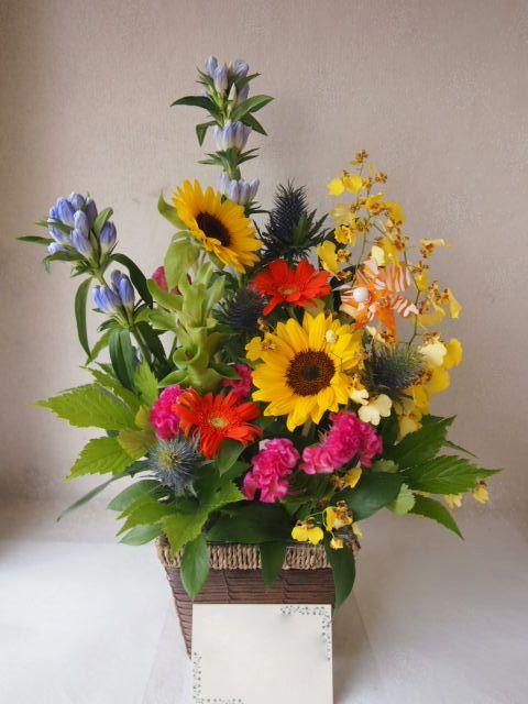 花ギフト|フラワーギフト|誕生日 花|カノシェ話題|スタンド花|ウエディングブーケ|花束|花屋|49730