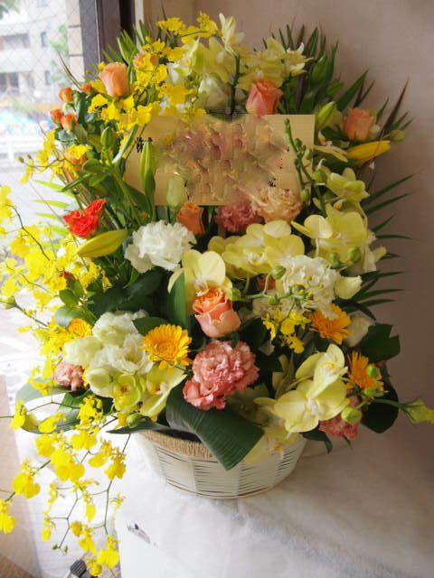 花ギフト|フラワーギフト|誕生日 花|カノシェ話題|スタンド花|ウエディングブーケ|花束|花屋|40806